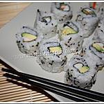 recette Ura-Maki-zushis ou Makis inversés