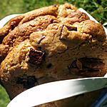 recette Cookies aux noix de pécan et aux pépites trois chocolats