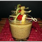 smoothie : recette Smoothie ananas passion kiwi