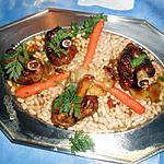 recette Souris d agneau confite aux haricots blancs