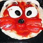 recette Mini pizza chat