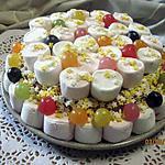 recette Gâteau bonbons anniversaire enfants sans cuisson et rapide.