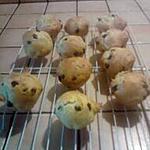 recette Briochettes aux pépites de chocolat
