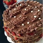 recette Gâteaux, chocolat,fraise facile