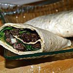 recette Wraps aux Foies de Volaille et Moutarde à l'Ancienne