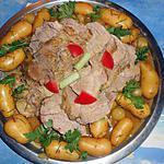 recette Roti de porc aux rates et romarin