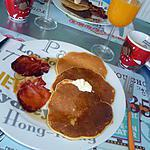 recette Pancakes & Bacon