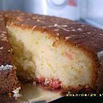 recette gâteau moelleux aux pralines roses façon brioche