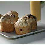 recette Muffins aux framboises et à la fève Tonka