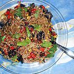 recette Pates chinoises aux légumes