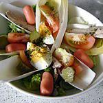 recette petite salade du soir