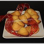 recette Madeleines à la fève Tonka