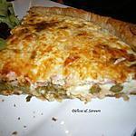recette Quiche aux asperges vertes et au saumon fumé