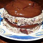 recette ENTREMET NOISETTE ET CHOCOLAT
