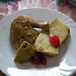 recette Poulet au curry et au céleri