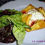 recette Feuilleté thon, tomate, ricotta de La cuillère aux mille délices