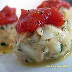 recette boulettes de colin aux saveurs de méditérranée