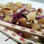 recette Salade de poulet aux saveurs d'Asie