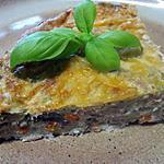recette Quiche sans pâte aux légumes et thon.