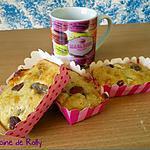 recette Moelleux au chocolat blanc et fraises séchées