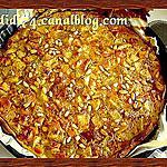 recette Tarte au poulet, curry et lait de coco