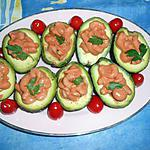 recette Avocats aux crevettes