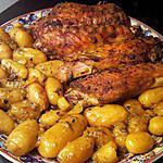 recette grosse aile de dinde et pomme de terre a la chermoula
