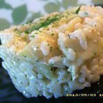 recette risotto crémeux aux artichauts (diététique)