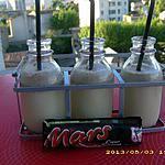 recette milk-shake aux mars