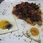 recette Boeuf haché au rutabaga et oeufs.