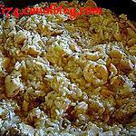 recette Curry de poulet au lait de coco et riz
