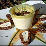 Flans de Foie gras aux Morilles