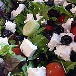 recette Salade Grec rafraichissante