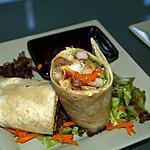 recette Wraps Salade de Boeuf Vietnamienne