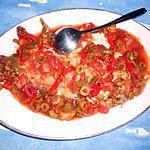 recette Dos de cabillaud a l oriental