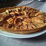 recette tarte aux pommes canelle et vanille