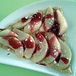 recette tarte fine poires framboises(recette jean michel cohen)