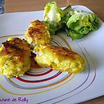 recette Galettes de poisson au safran et citron