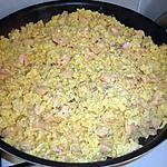 recette Oeufs brouillés au saumon