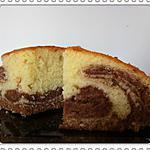 recette Marbré moelleux au mascarpone