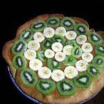 recette tarte kiwi-banane à la noix de coco