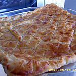 recette tourte feuilletée jambon/fromage