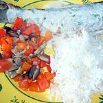 recette Truites tomates/carottes et champignons