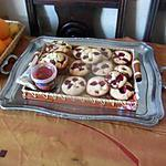 recette muffins  aux framboises