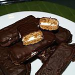 recette Spéculoos Fourrés à la Crème de Menthe, Enrobés de Chocolat Noir