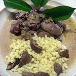 recette Rognons de porc aux épices Colombo.