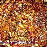 recette Tarte à la ratatouille et sauce chypriote