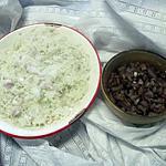 recette Salade radis noir à la vinaigrette échalote.