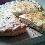 Quiche lorraine aux 3 fromages
