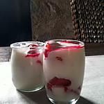 recette yaourt aux fruits rouge